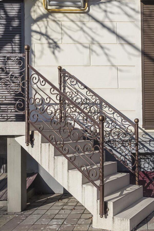 Балконные и лестничные ограждения — г.Краснодар