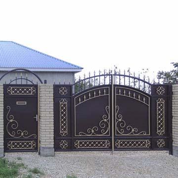 Ворота и калитки на заказ