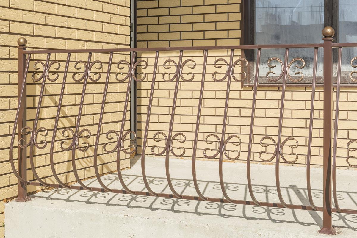 Стандартные выпуклые ограждения - Новоросийск