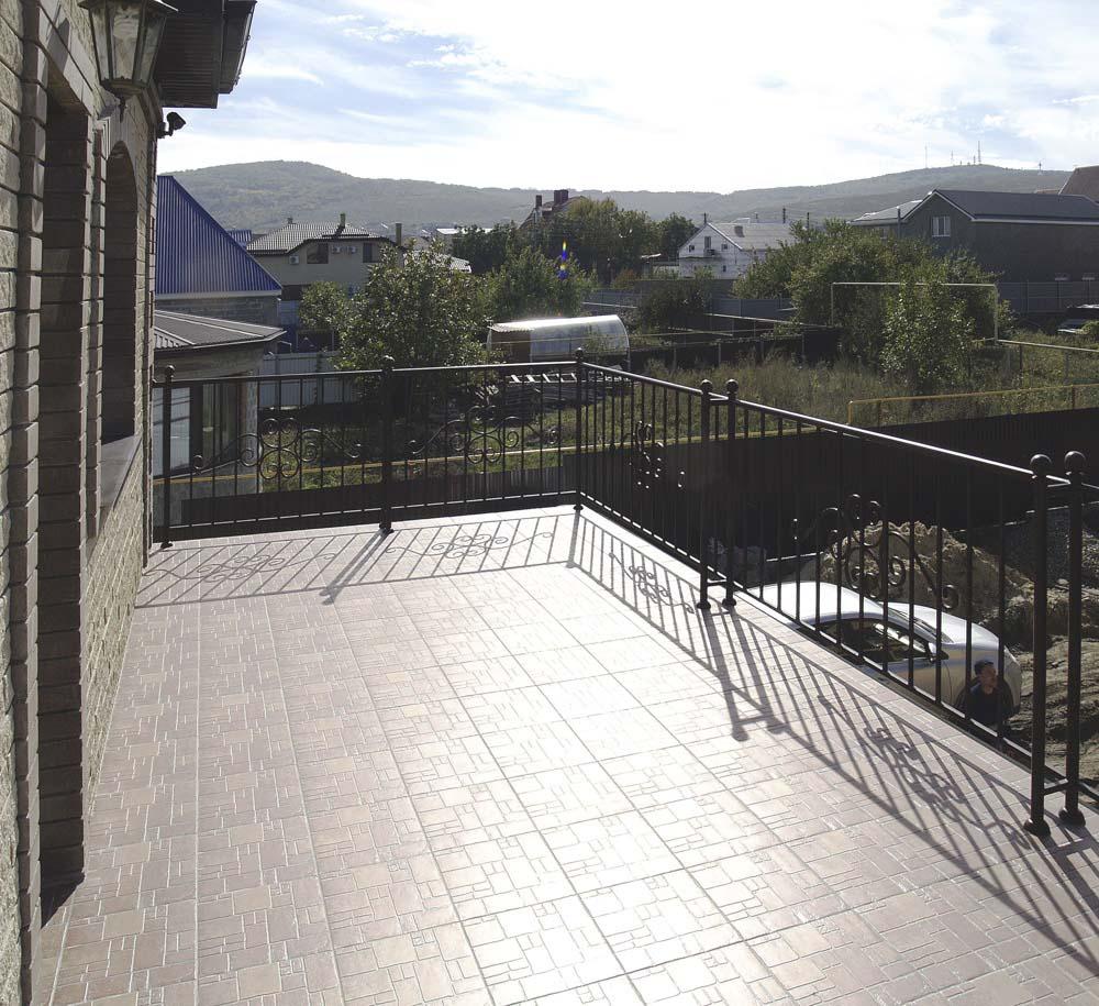Балконные ограждения в поселке Супсех