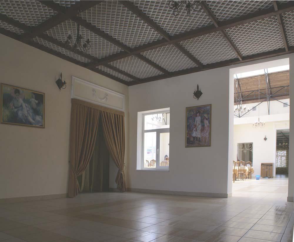 Интерьер Шато в санатории Ривьера в городе Анапа