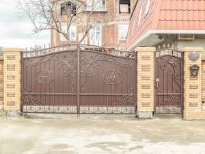 Кованые ворота и калитка – ст. Натухаевская
