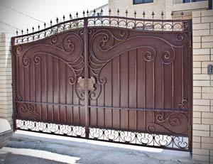 Кованые ворота – г.Анапа