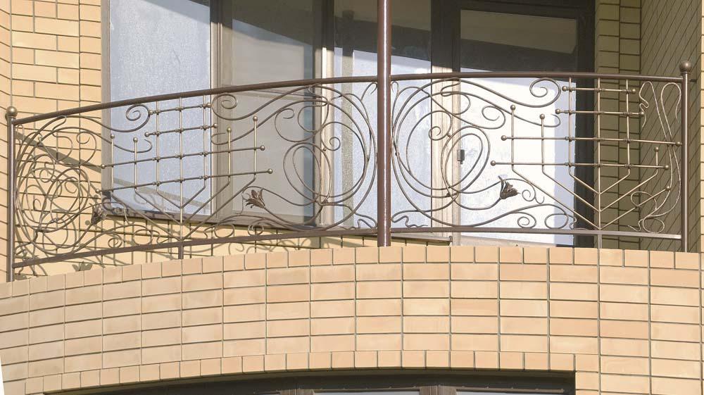 Балконные ограждения - п.Виноградный
