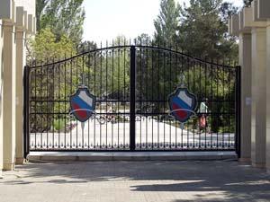 Открытые кованые ворота – г.Анапа