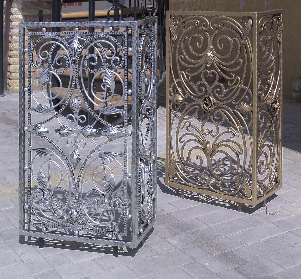 Кованые решетки на фанкоил