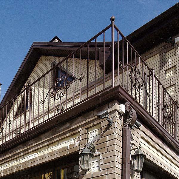 Стандартные балконные ограждения