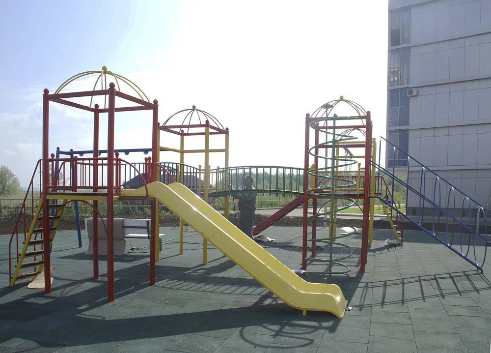 Детский городок для Волейграда в поселке Витязево