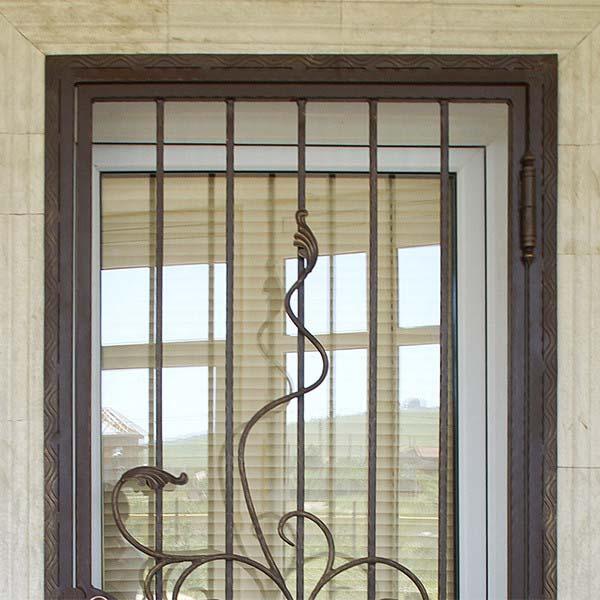 Дверь открытая, кованая — п.Супсех
