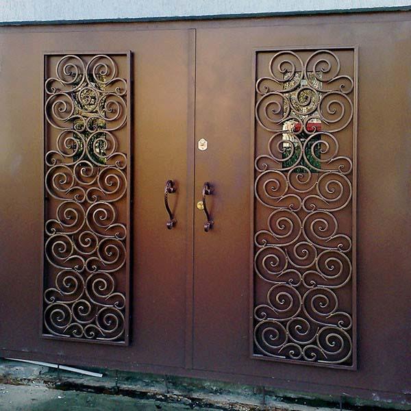Гаражные кованые ворота, открытые ворота и заборные секции  – г.Анапа