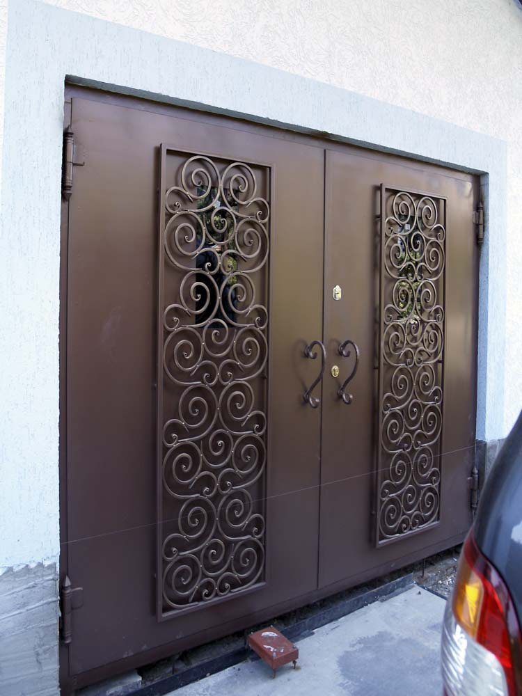 Кованые ворота в городе Анапа