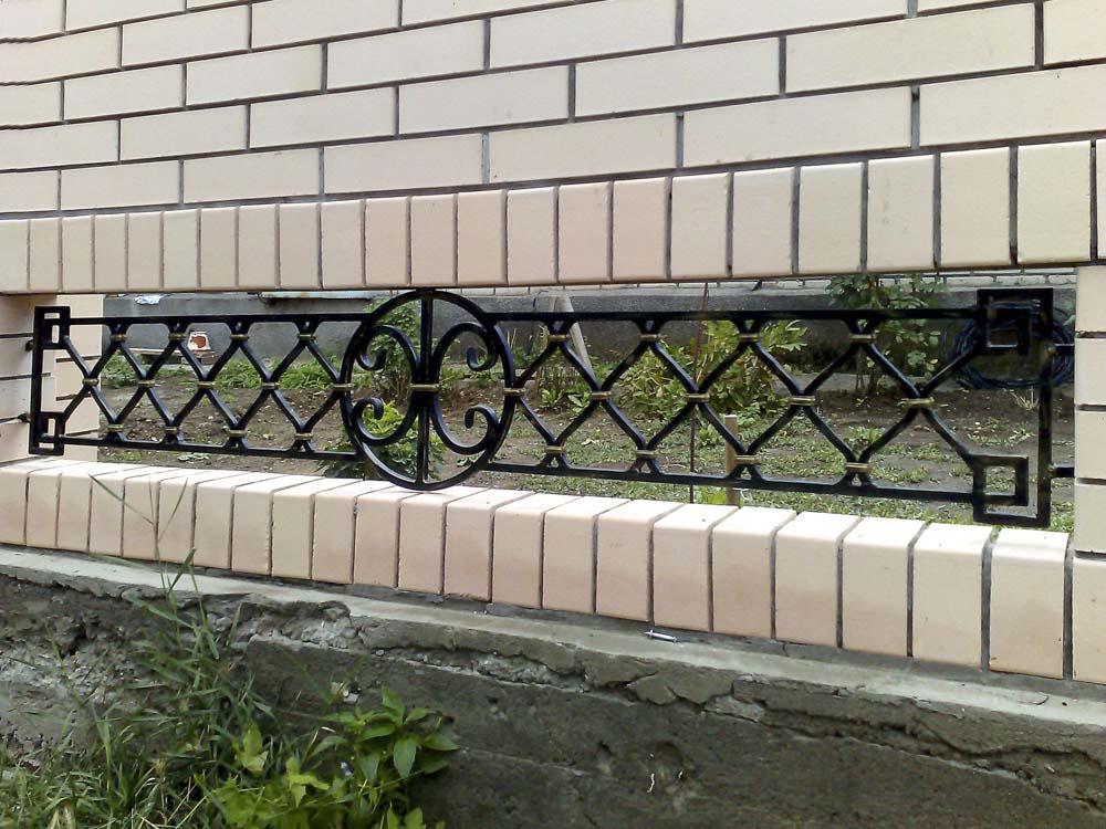 Кованые заборные вставки в станице Анапской