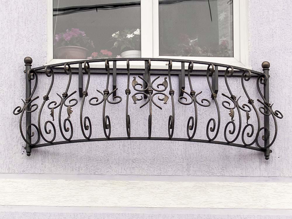 Кованый балкончик для гостиницы - п.Витязево
