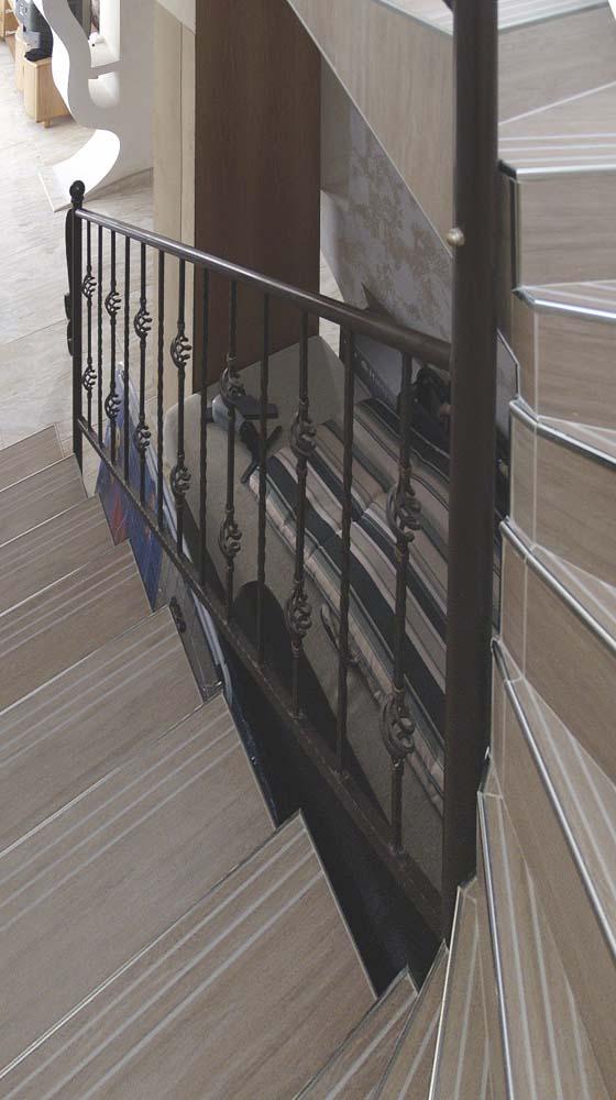 Внутренние лестничные ограждения в поселке Супсех