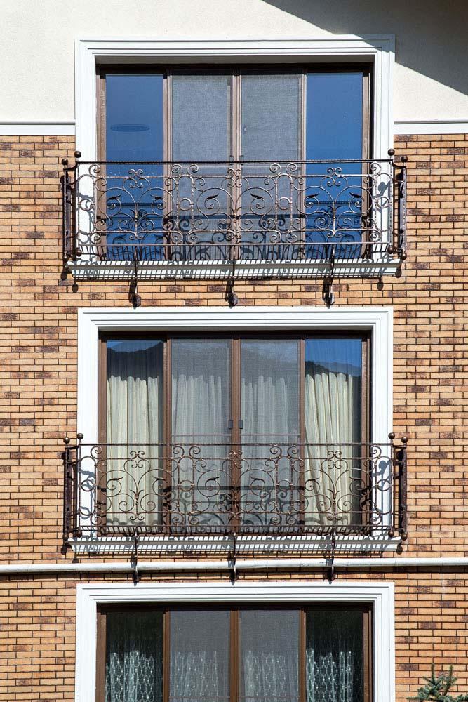 Кованые балконы - п.Адербиевка
