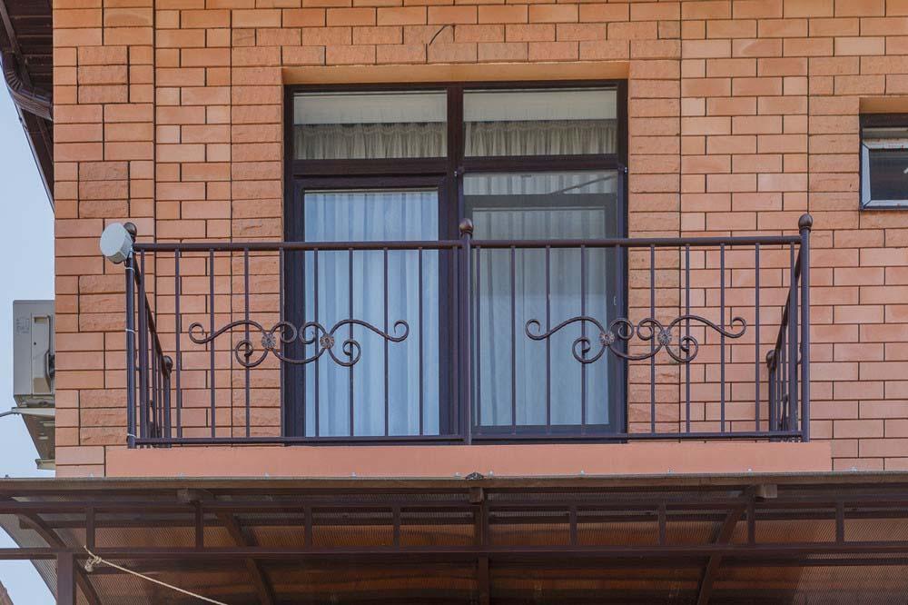 Стандартные ограждения для балкона и терассы - г.Анапа