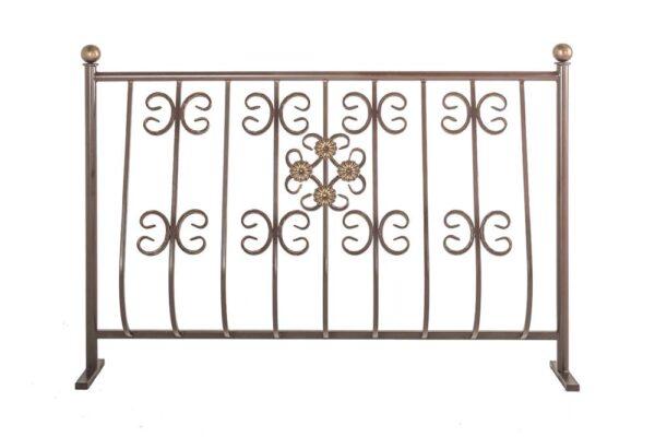 Ограждения балконные выпуклое, рисунок 4 (арт. ОБВ-4)