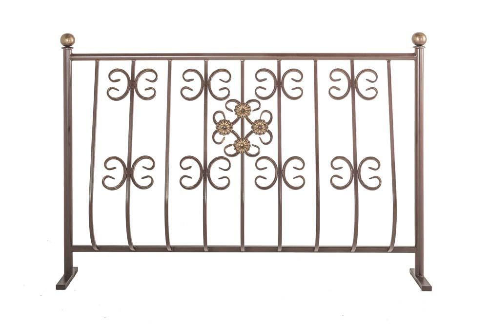 Балконные ограждения выпуклые, рисунок 4