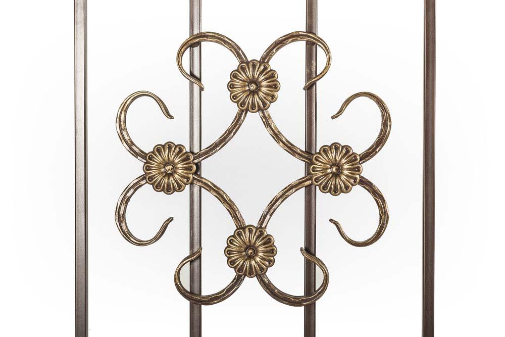 Балконные ограждения прямые, рисунок 5