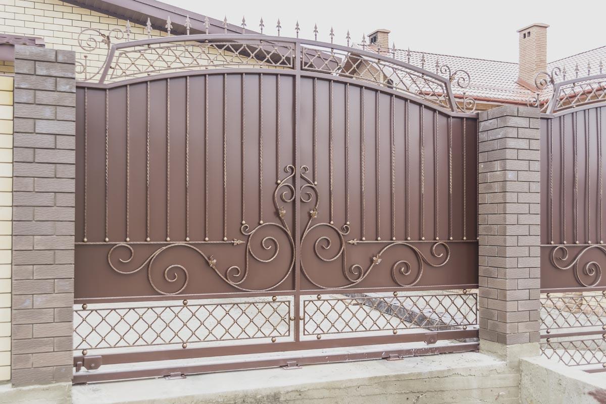 Ворота и калитка - г. Анапа