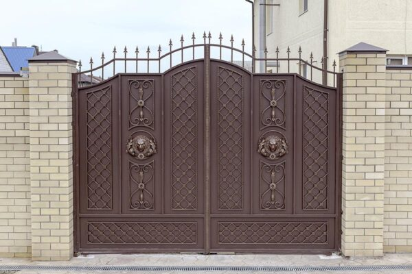 Ворота и калитка — ст. Анапская