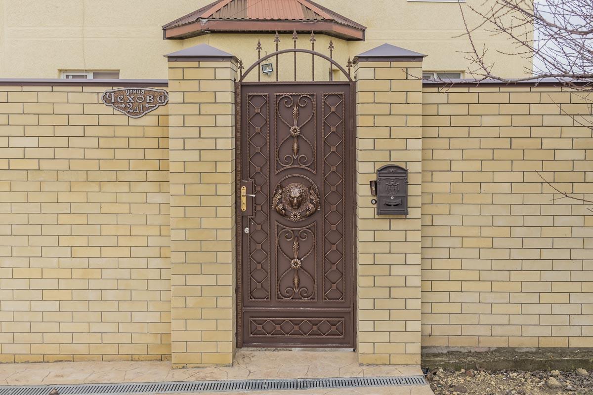 Ворота и калитка - ст. Анапская