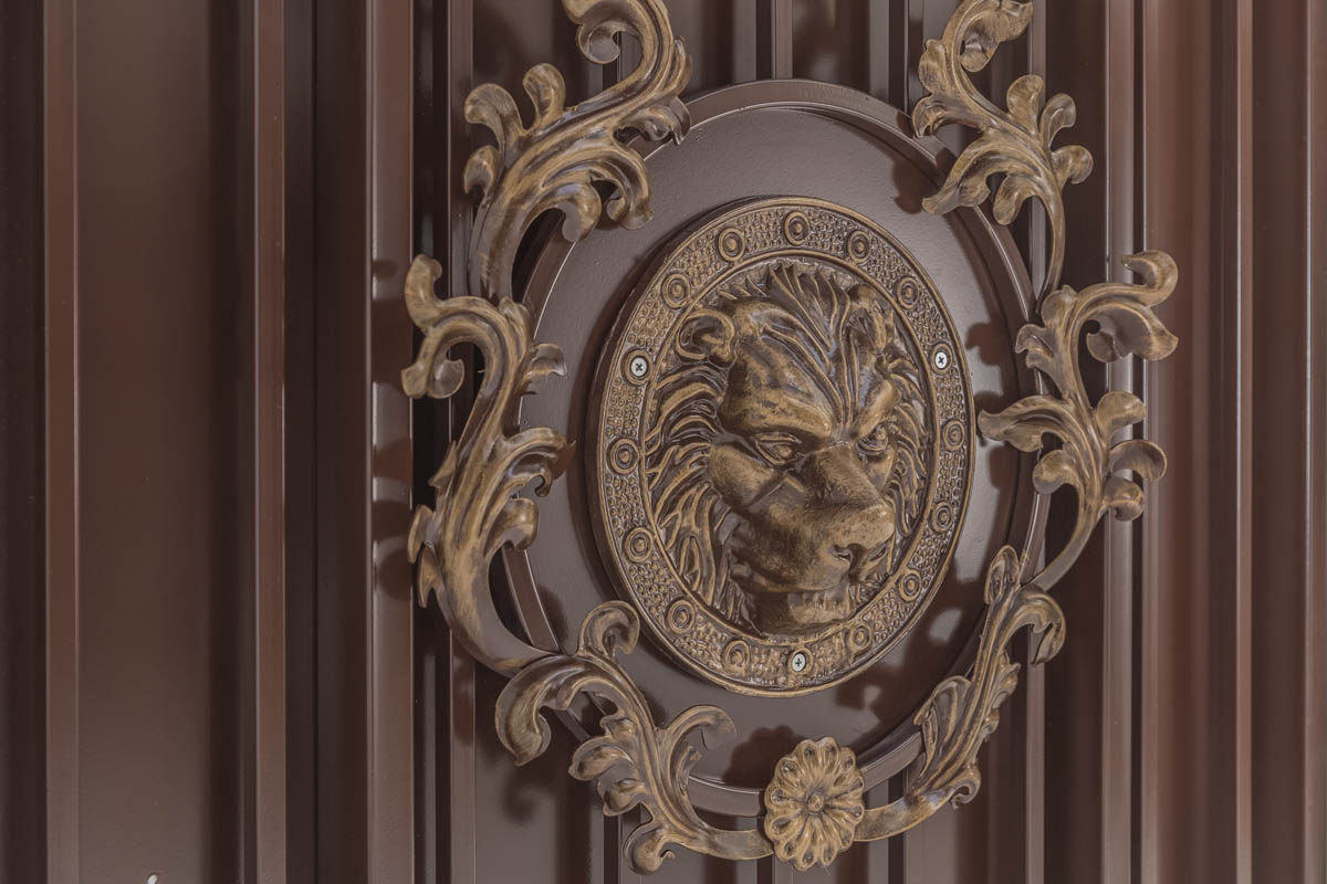Калитка Эконом - рисунок Львы 2