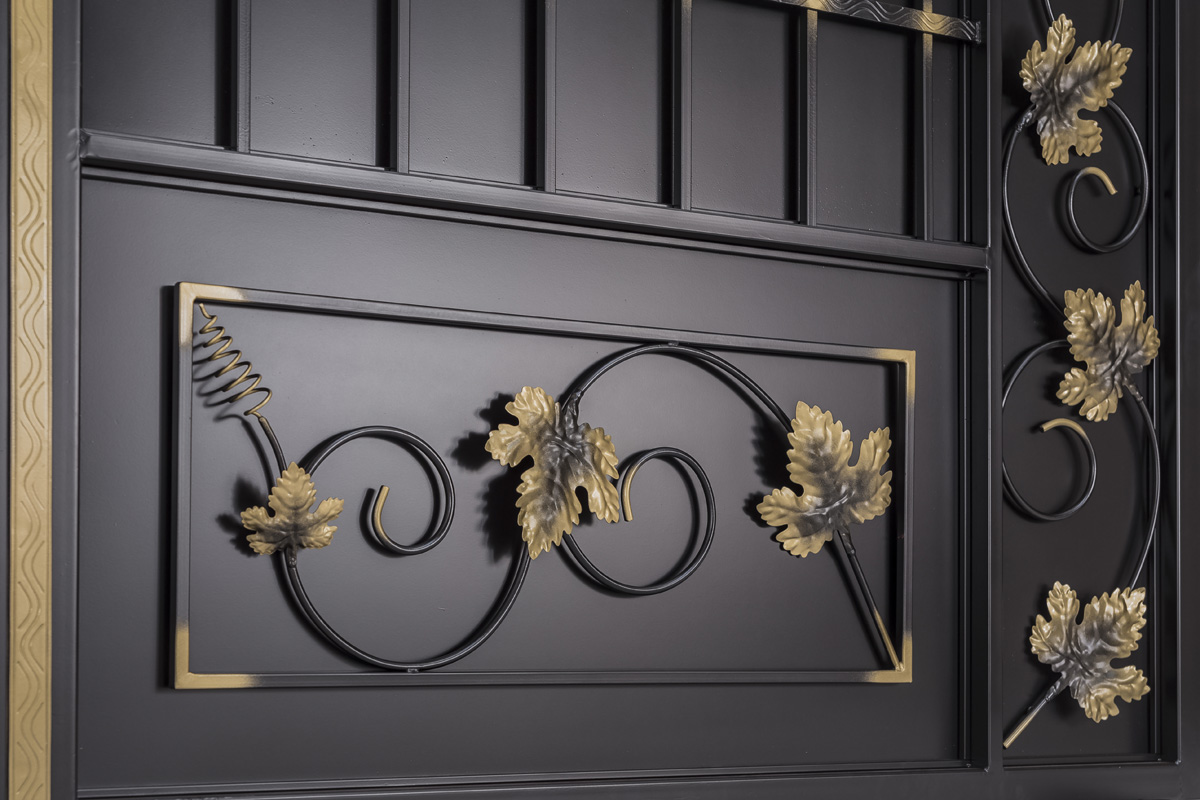 Ворота серии «Эконом» — «Дворянские — лоза»