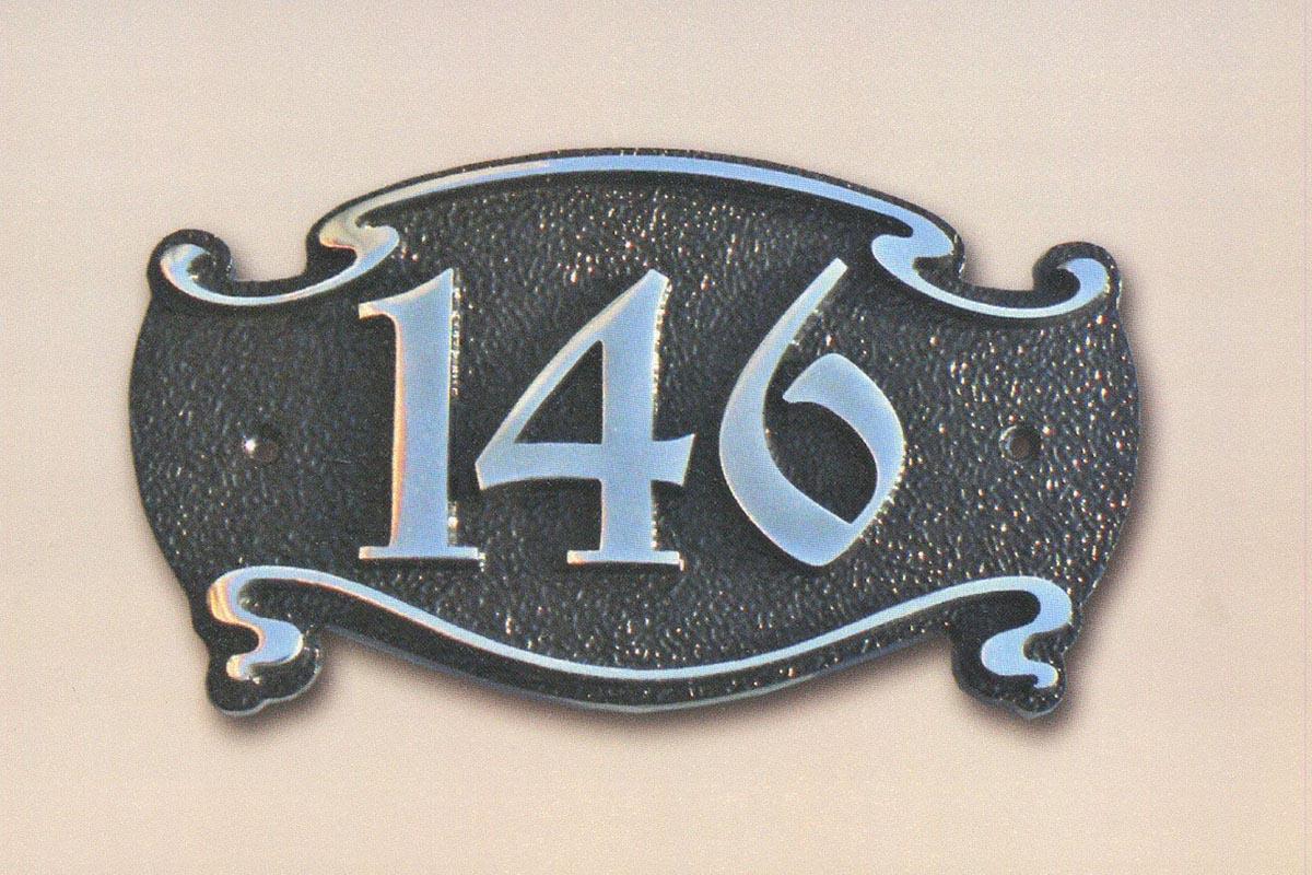 Адресная табличка арт. Н-03