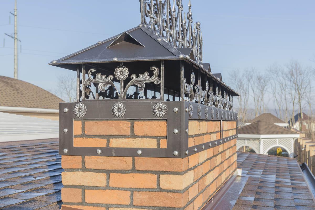 Колпак на дымоход - ст. Гостагаевская