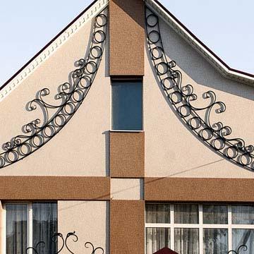 Кованые фасады на заказ