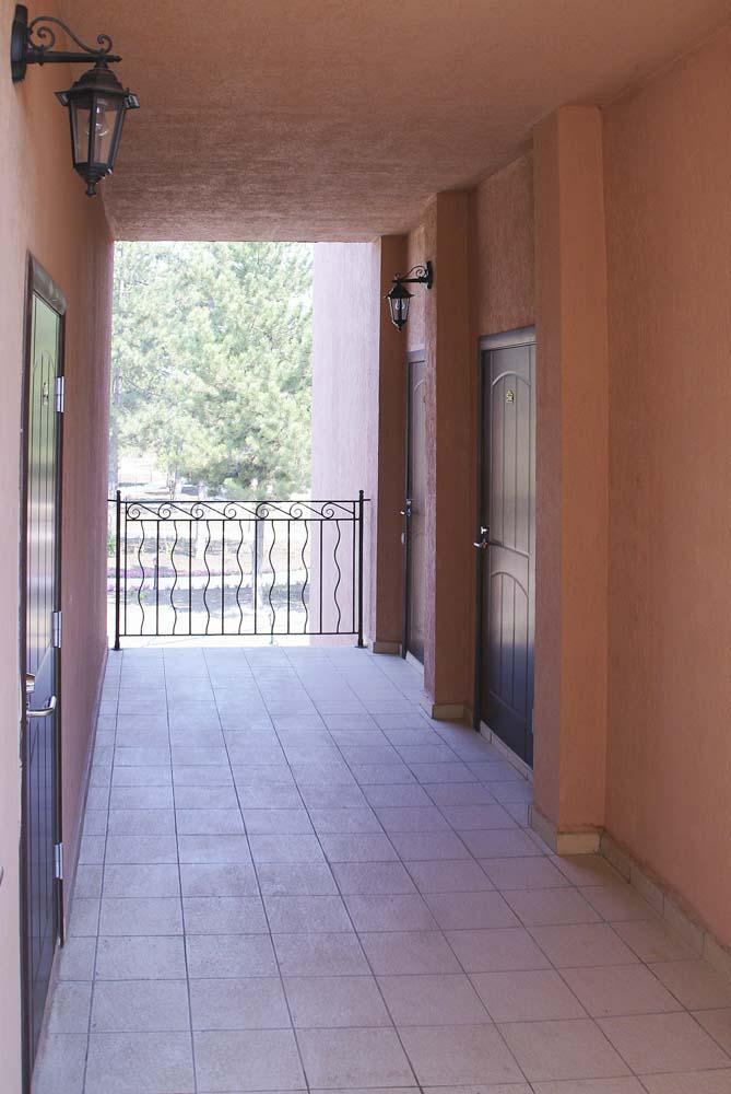 Экстерьер в санатории Ривьера в городе Анапа