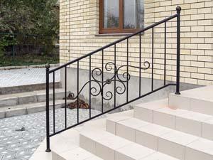 Стандартные уличные лестничные ограждения — п.Супсех
