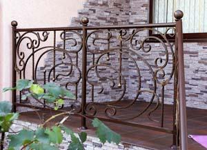 Балконные и лестничные ограждения — г. Анапа