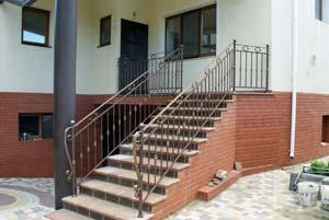 Балконные и лестничные ограждения — г.Анапа
