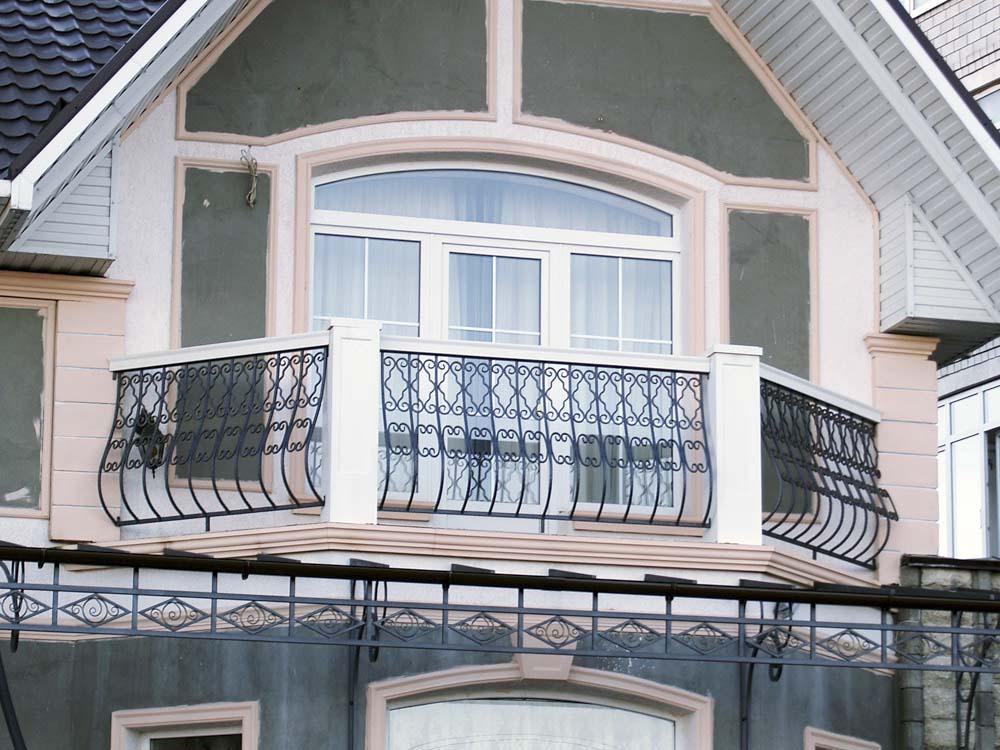 Уличные балконные ограждения в станице Алексеевка