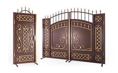 стандартные ворота и калитки
