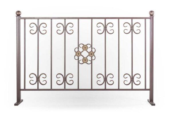 Ограждения балконные прямые, рисунок 4 (арт. ОБП-4)