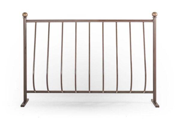 Ограждения балконные выпуклое, без рисунка (арт. ОБВ)