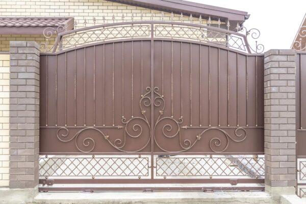 Ворота и калитка — г. Анапа